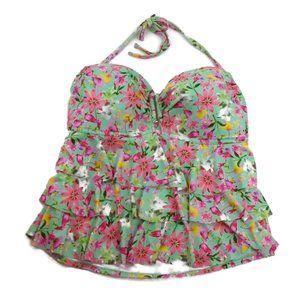NEW Catalina 2pc Bikini Set 2X 22 24 Floral NWOT